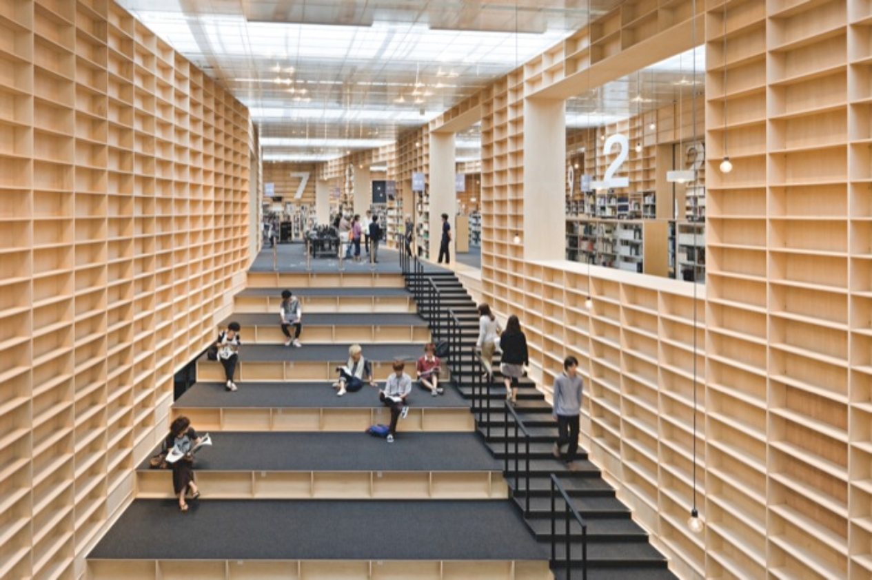 Musashino Art University Library: ode aan de boekenkast - Objectuur ...